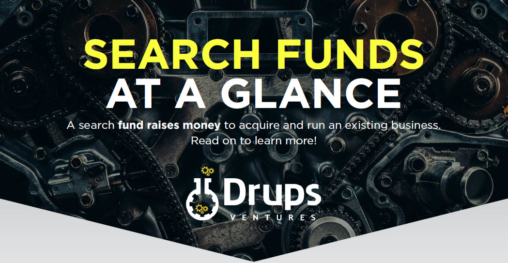 Search Fund Key Stats Infographic